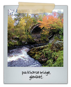 Packhorse Bridge, Glenlivet